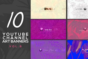 10 Youtube Channel Art Banners vol.8