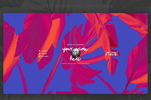 10 Youtube Channel Art Banners vol 8