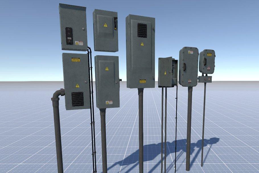 Electric Control Panel 4