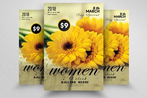 Women's Day Flyer Templates