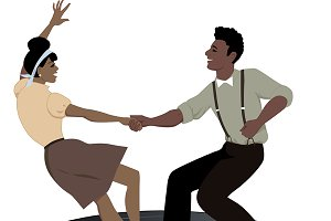 Lindy Hop on a record
