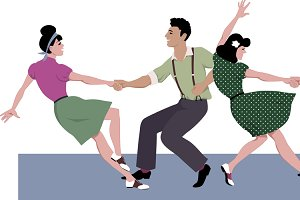Lindy Hop Formation