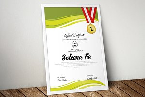 A4 Certificate & Diploma Templates