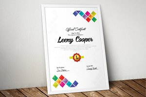 New Certificate Templates
