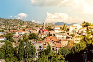 Scenic view of Kyperounta village