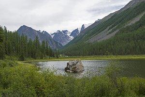 Shavla River. Altai Mountains,Russia