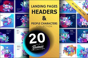 Business Landing pages collection