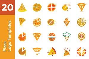 20 Logo Pizza Templates Bundle