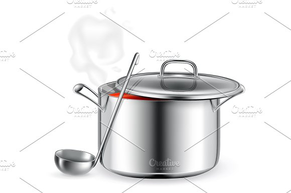Kitchen utensils icons in Objects - product preview 2