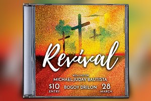 Revival CD Album Artwork