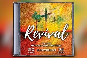 Revival CD Album Artwork