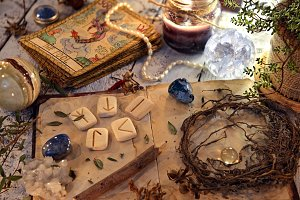 Fortune telling ritual
