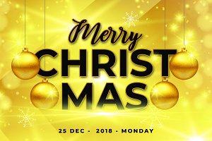 Christmas Flyer PSD