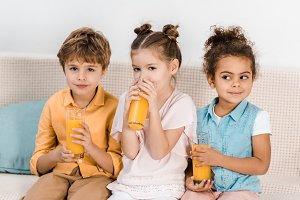 Children spending time together