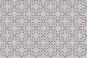 Ornamental abstract pattern