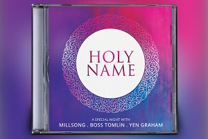 Holy Name CD Album Artwork
