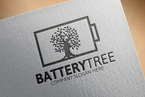 Battery Tree Logo