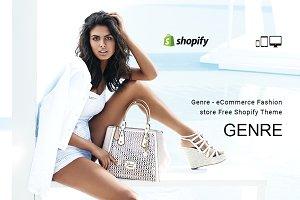 Genre Commerce Fashion Shopify Theme