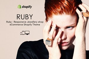 Ruby Jewellery Store Shopify Theme