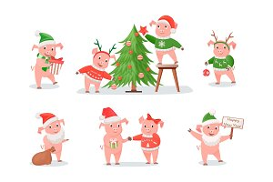 Pigs, Zodiac Symbol of New Year 2019