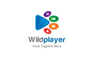 Wild Media Player Logo