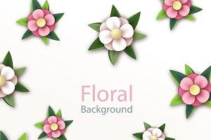 Spring blooming. Japanese flowers.