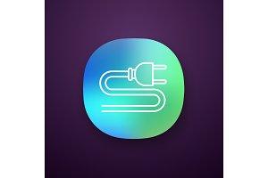 Electric plug app icon