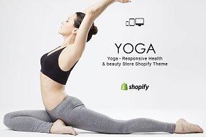 Yoga Health & beauty Shopify Theme