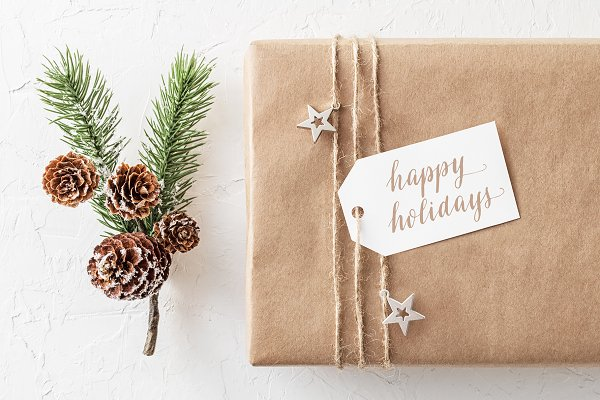 Holiday Printable Gift Tags, 01