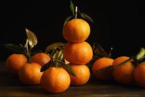 Tangerine pyramide
