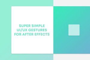 After Effects Gesture Animations