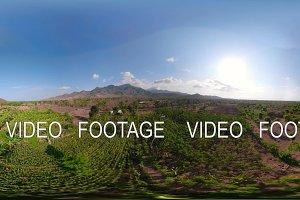 tropical landscape farmlands and
