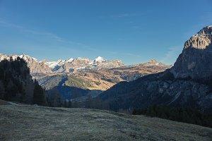 Beautiful mouintain views in Europe