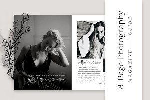 8-Page Photography Magazine Template