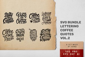 Hand Lettering Coffee Quotes 2
