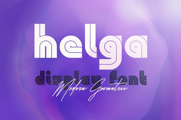 Fonts: MIIM - Helga - Display Font
