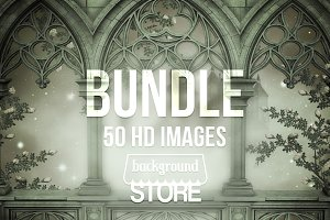 Gothic Fantasy Backdrops Bundle