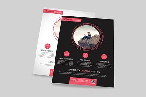 App Design Agency  Flyer