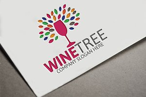 Wine Tree Logo