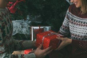 Christmas presents time