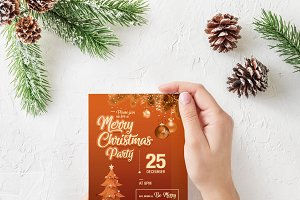 Christmas Flyer With 4 Colors