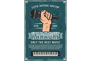 Musical party karaoke live music