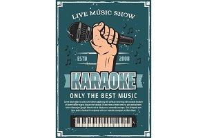 Musical party karaoke live music