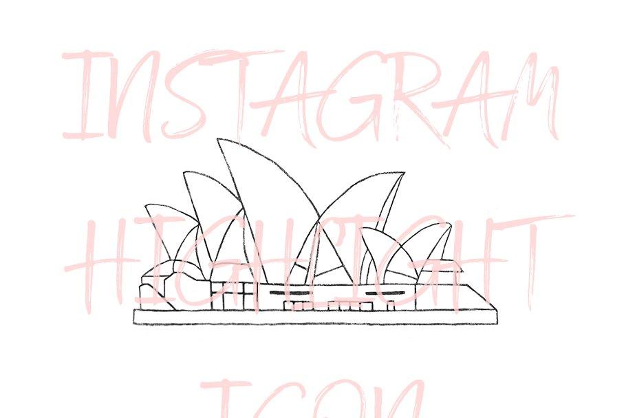 Sydney Australia Instagram Icon
