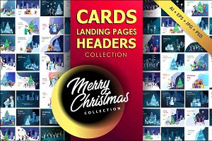 Greeting headers & cards Collection