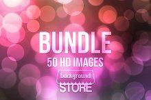 50 Bokeh Backdrops Bundle