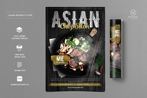 Asian Noodle Flyer