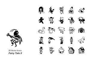 Fairy Tale II vector icons