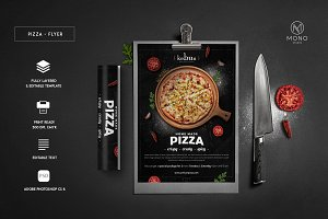 Pizza Rustic Flyer