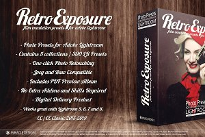 Presets for Lightroom Retro Exposure